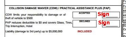 Rental agreement - CDW