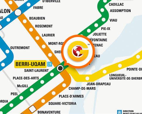 Station de métro Berri-Uqam