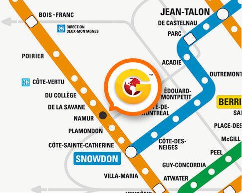 Station de métro Namur