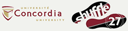 Univertsité Concordia University Shuffle 27 Logo