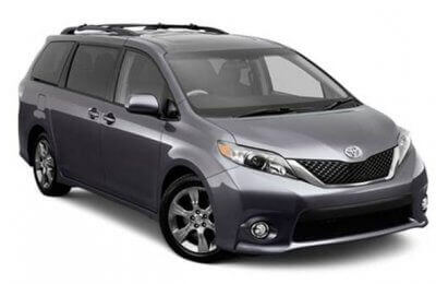 Toyota Sienna - 8 passagers